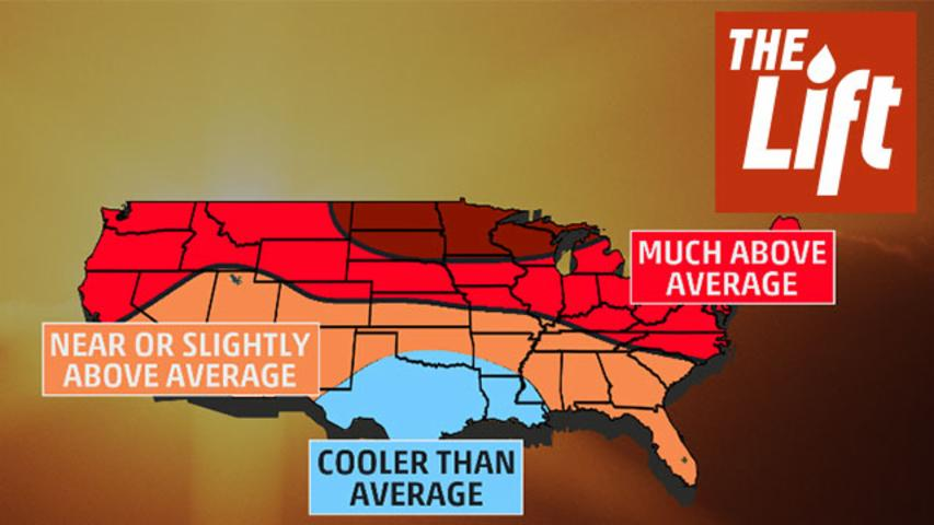 It's Going to Be Hot This Summer For Most of the Country