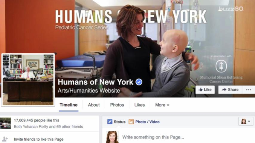 Humans of New York Moving Pediatric Cancer Fight