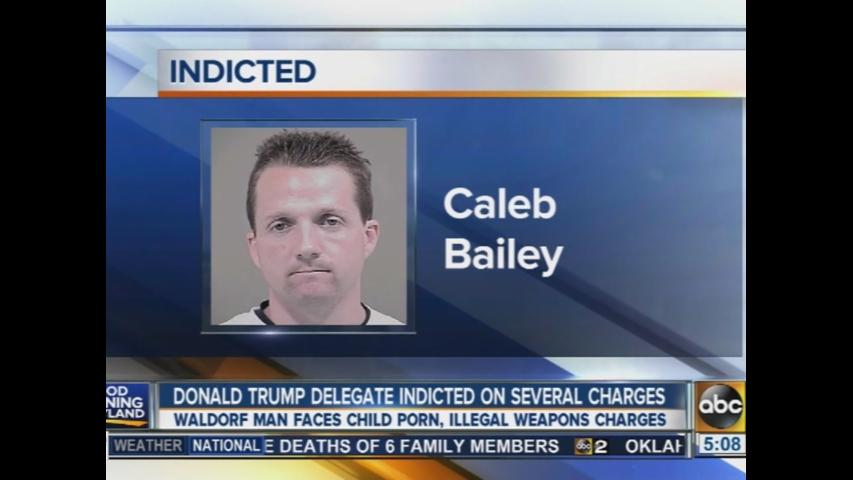 Md. Trump delegate indicted on child porn charges