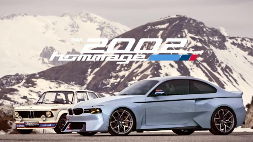BMW 2002 Hommage | Automaker Footage