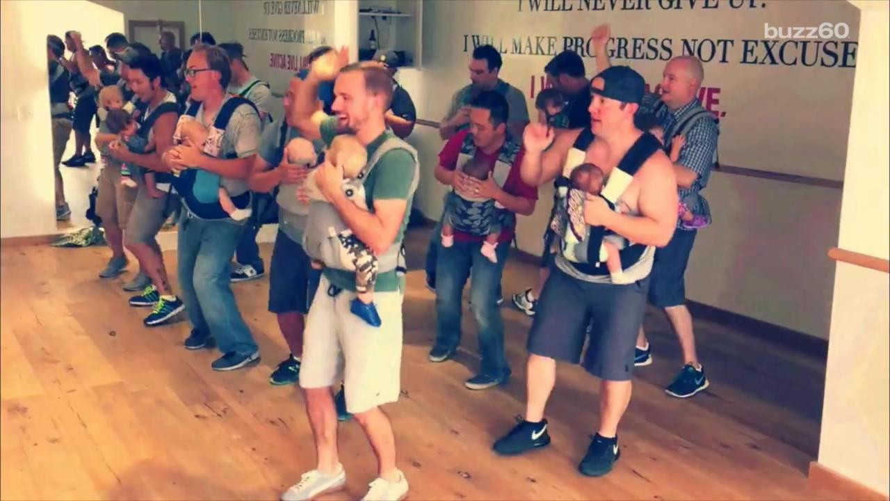 Dads Dancing with Babies Video Goes Viral for All the Right Reasons