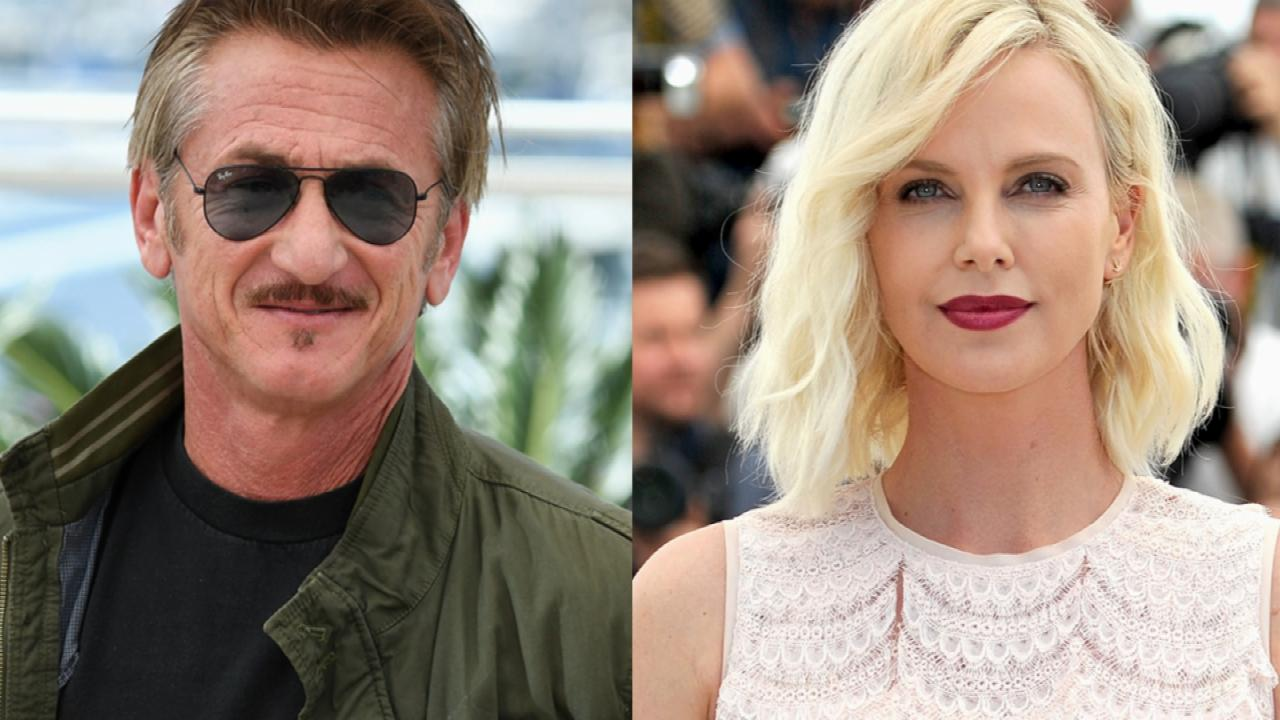 Charlize Theron and Sean Penn Keep Their Distance at Cannes