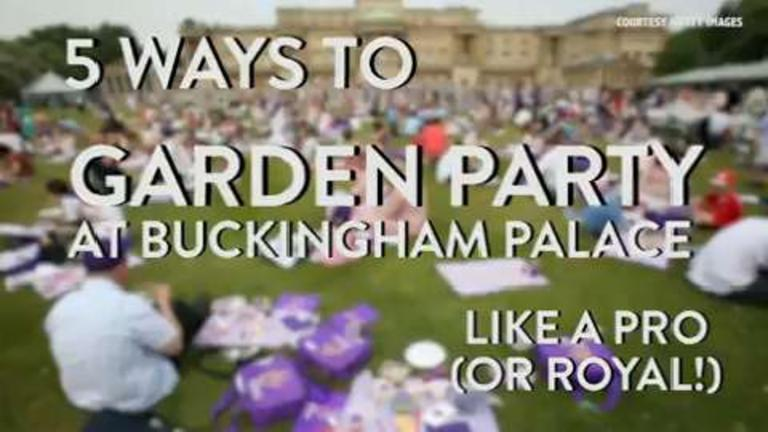 5 Ways to Garden Party at Buckingham Palace Like a Pro (Hint: Go for the Finger Sandwiches First!)