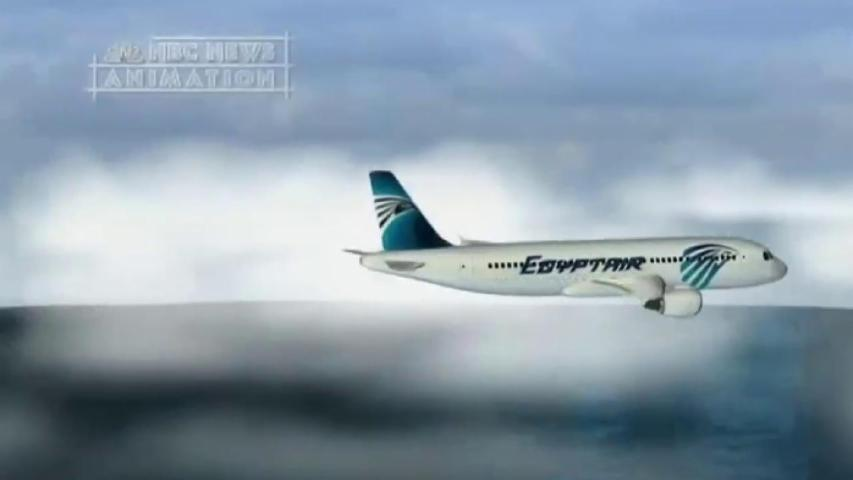 Possible fire erupts onboard EgyptAir missing flight