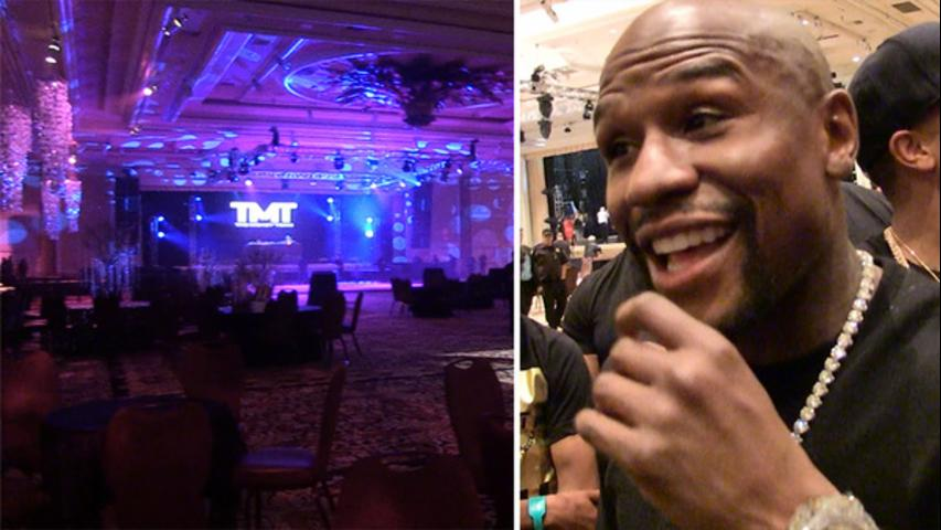 Floyd Mayweather -- 7-Figure Sweet 16 for Daughter