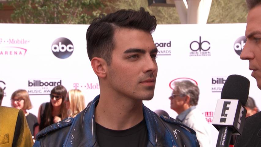"Joe Jonas Talks ""Toothbrush"" Video With Ashley Graham"