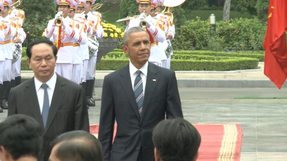 Vietnam welcomes Obama