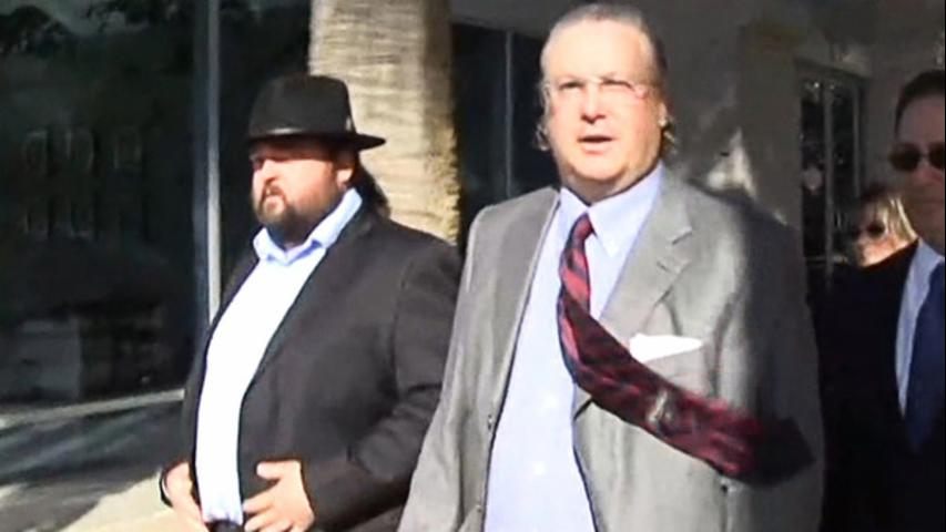 Chumlee and His Lawyer Outside Court