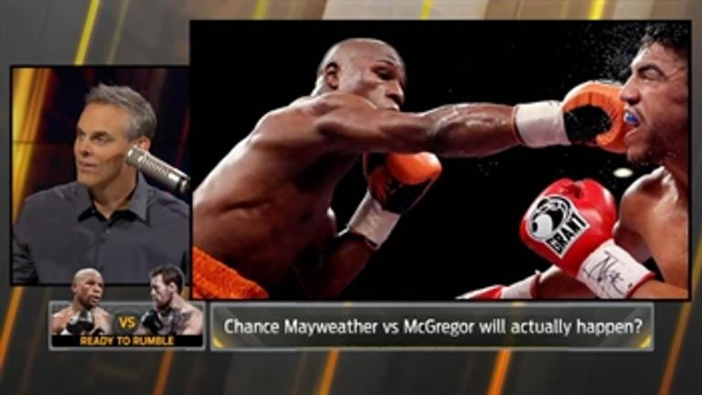 Here is why Colin thinks McGregor vs Floyd Mayweather will happen - 'The Herd'