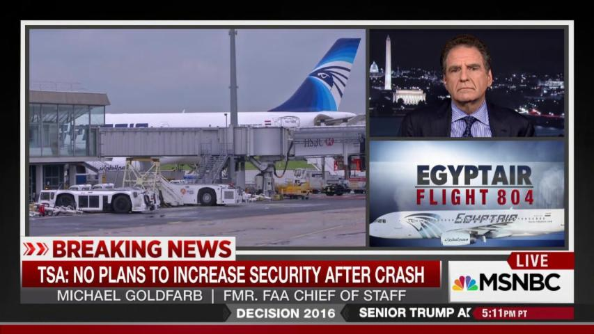 Airport security in the wake of EgyptAir crash