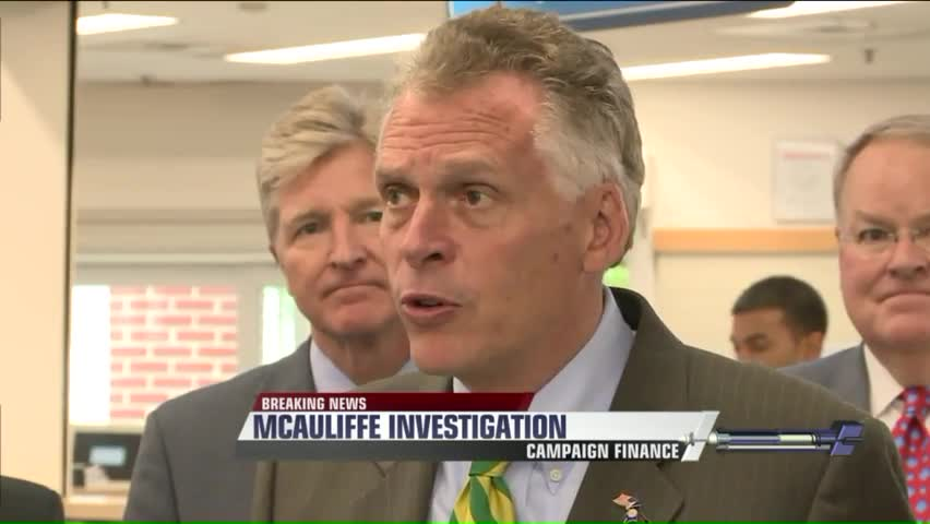 Report: Virginia Gov. Under Federal Investigation For Campaign Contributions