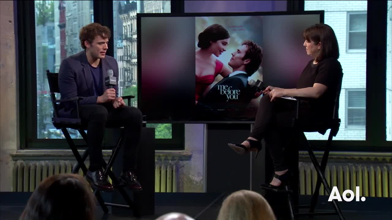 "Sam Claflin On ""Me Before You"""