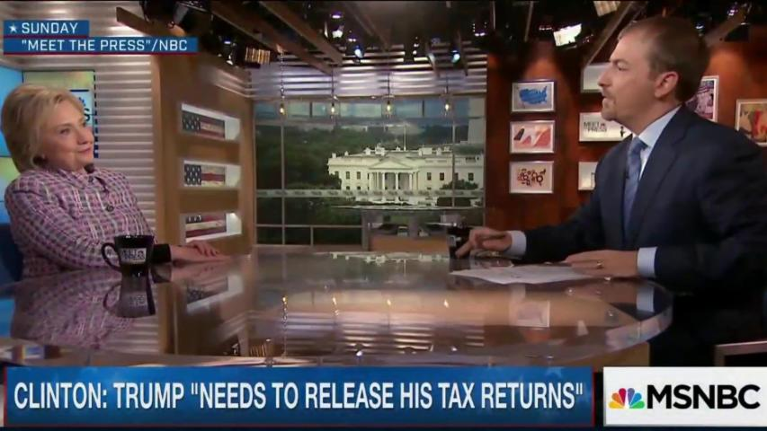 Clinton: Trump 'needs to release tax returns'
