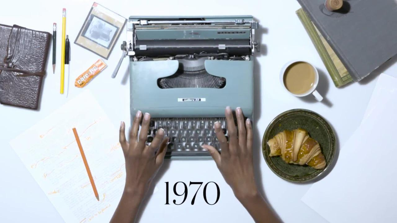 100 Years of Manicures