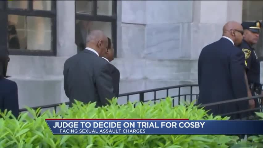 Bill Cosby to Stand Trial for Criminal Sexual Assault