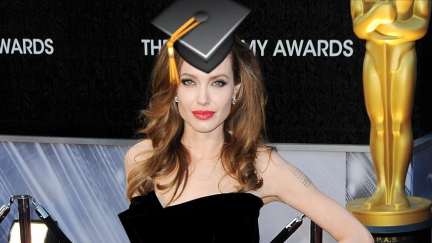 Angelina Jolie's Professor Gig Gets Emojified
