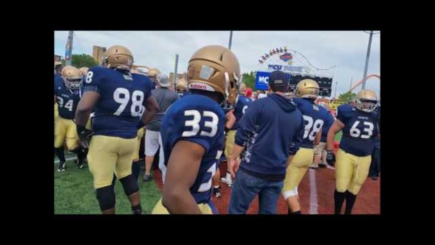 Fists Fly After NYPD-FDNY Charity Football Game