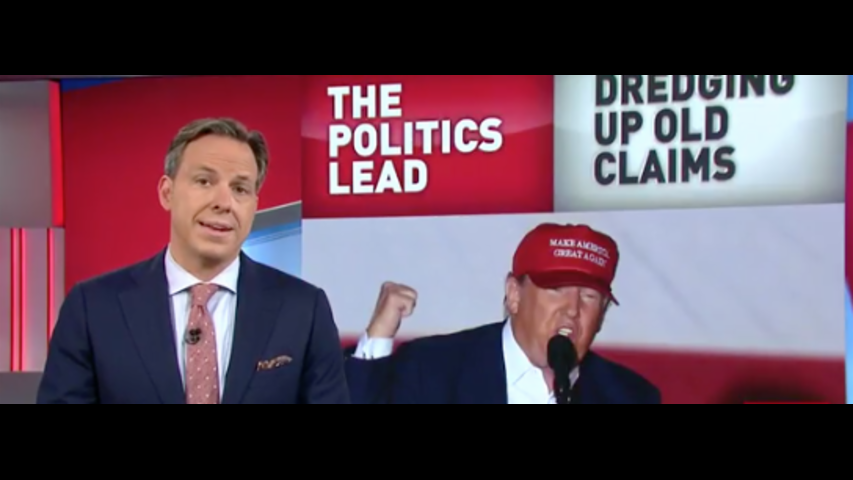 Jake Tapper Calls Out Trump On Old Conspiracy Rumors