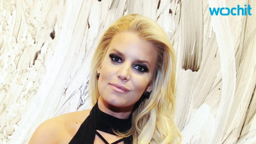 Jessica Simpson Gets Us Ready For The Summer In Her Sleek $78 Swimsuit