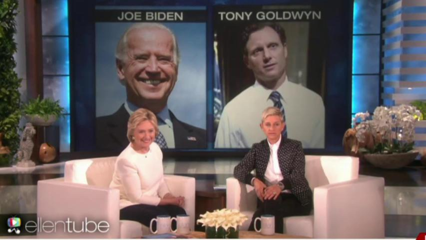 Ellen helps narrow Clinton's VP shortlist