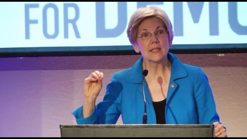 Elizabeth Warren steps up attack on 'small, insecure' Trump