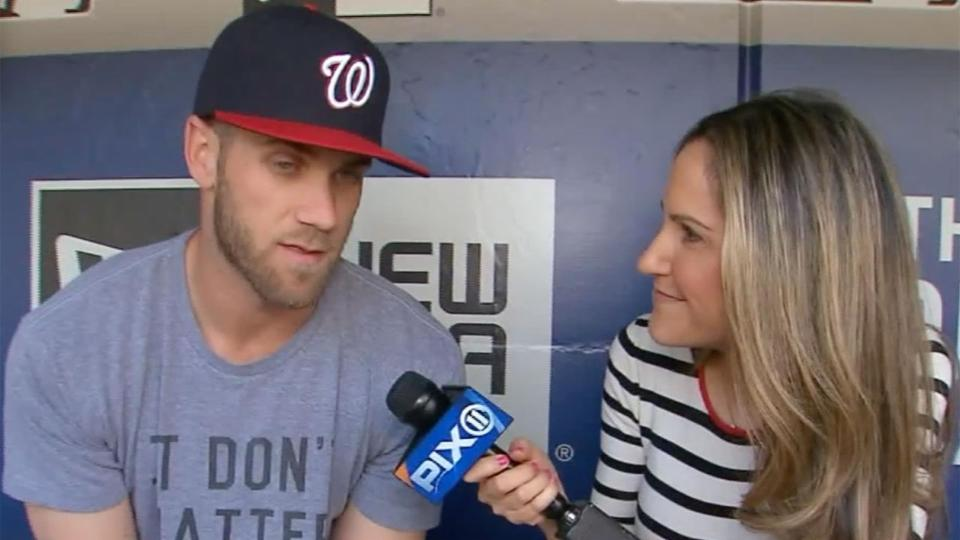 Bryce Harper explains what he means by 'Make baseball fun again'