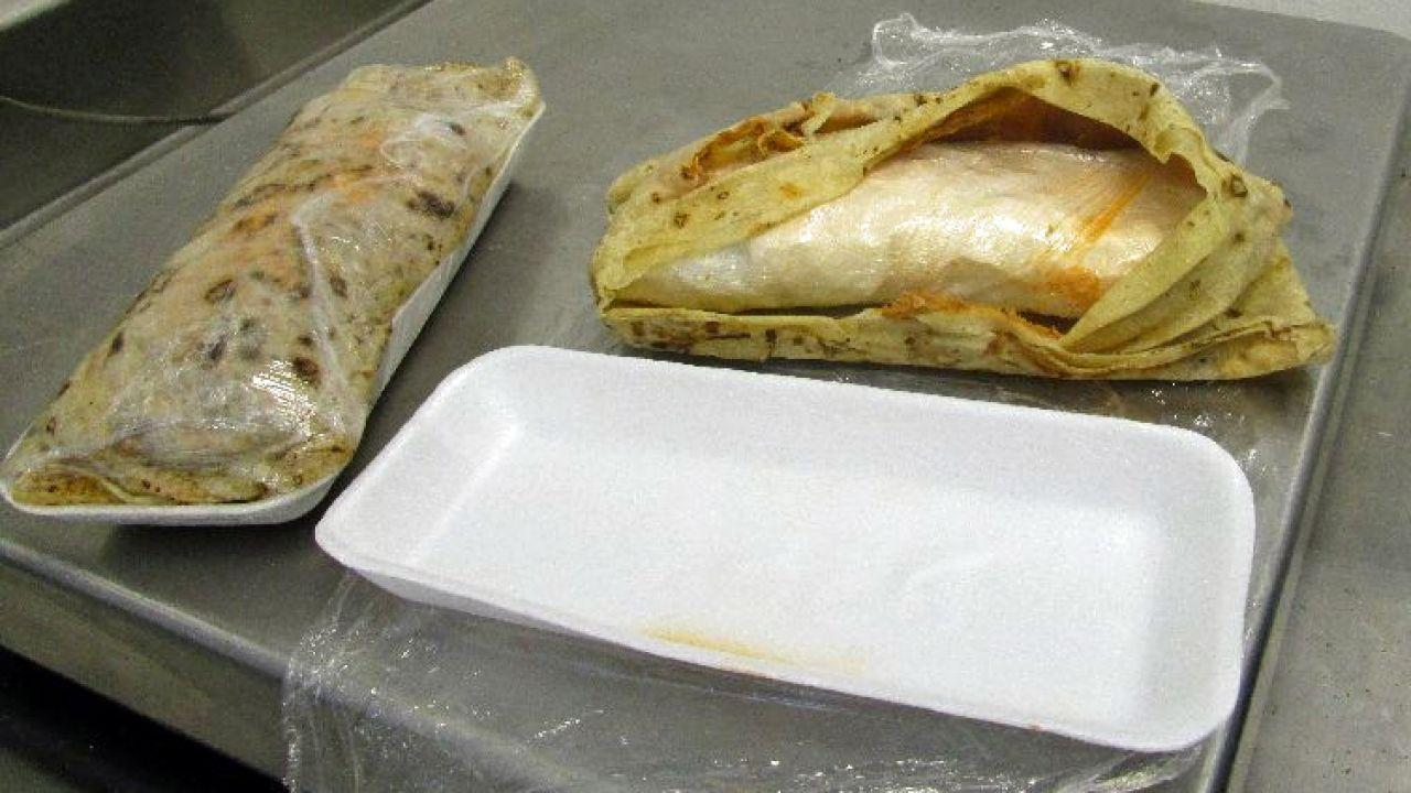 Those Aren't Burritos; That's $3,000 Worth of Meth