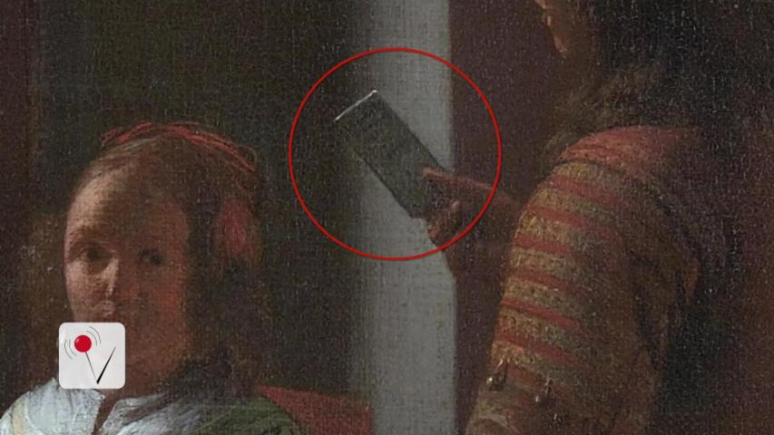 Tim Cook Thinks Nearly 350 Year Old Painting Shows an iPhone