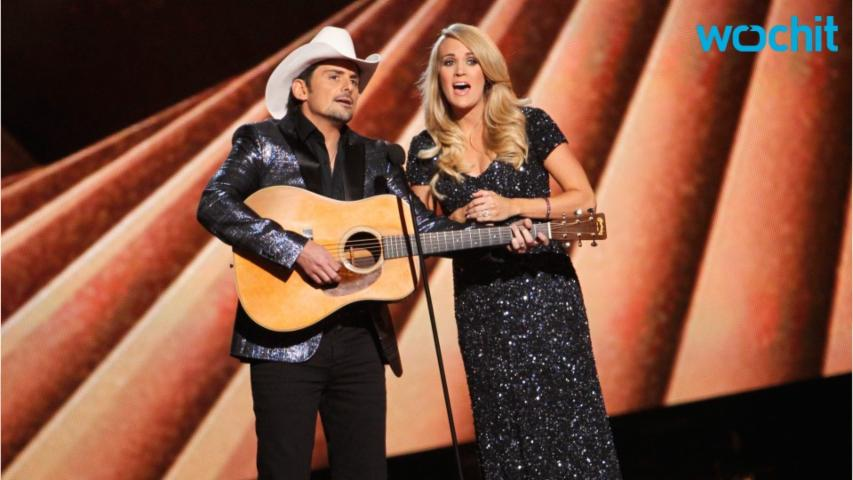 2016 CMA Awards Will Feature Co-Hosts Brad Paisley And Carrie Underwood