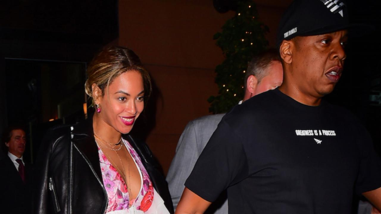 Beyonce and Jay Z Have a Date Night in NYC