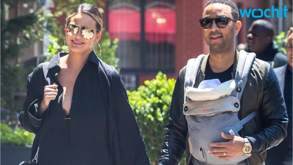 Chrissy Teigen And John Legend Love Changing Diapers