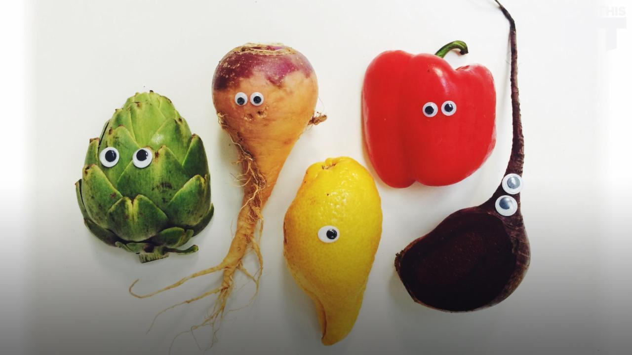 This Startup Sells Ugly Fruits And Veggies That Would Get Thrown Away