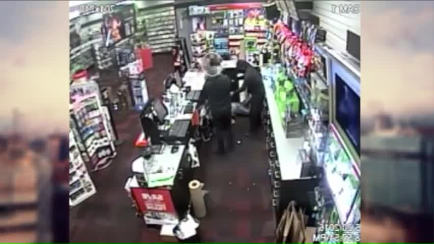 7-Year-Old Takes on Armed Robber