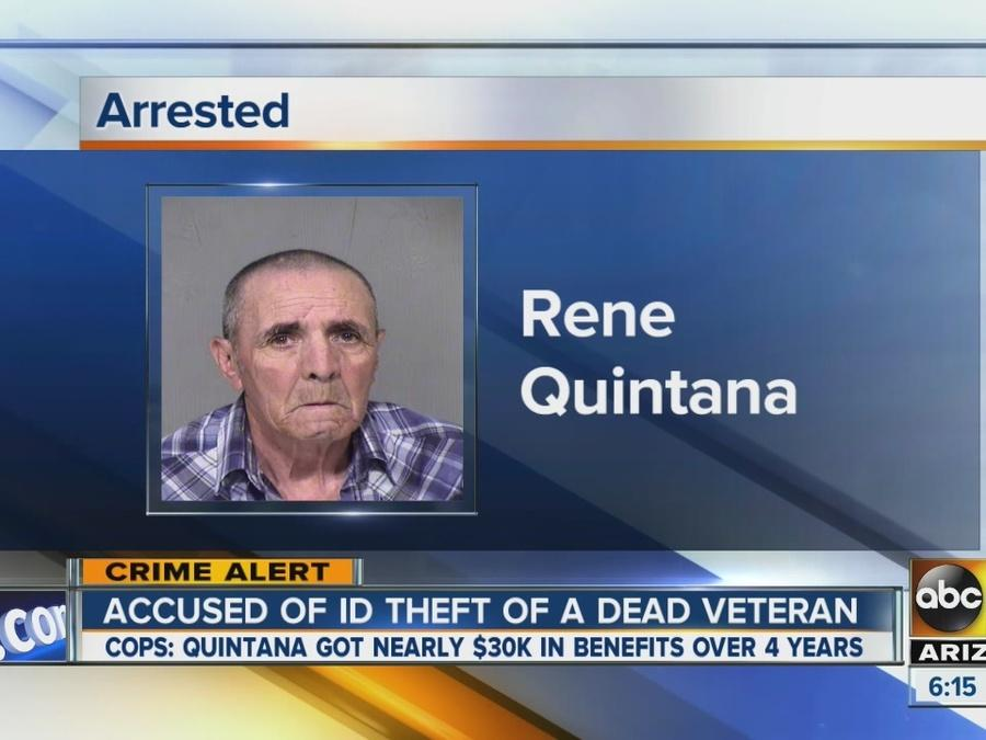 Valley man posed as deceased veteran