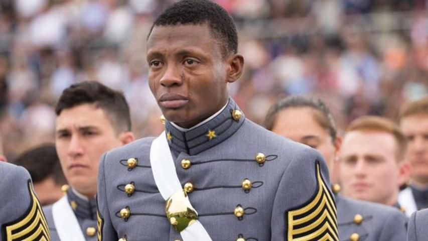 This Viral Photo Of Haiti-Born West Point Graduate Will Melt Your Heart