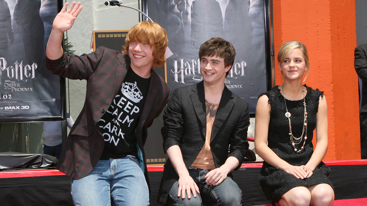 The 'Harry Potter' Cast Then & Now