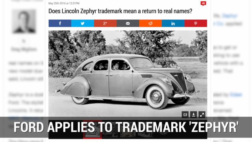Lincoln May Rebadge Its MKZ As Zephyr | Autoblog Minute