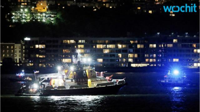 Vintrage Plane Crashes In The Hudson; Body Found