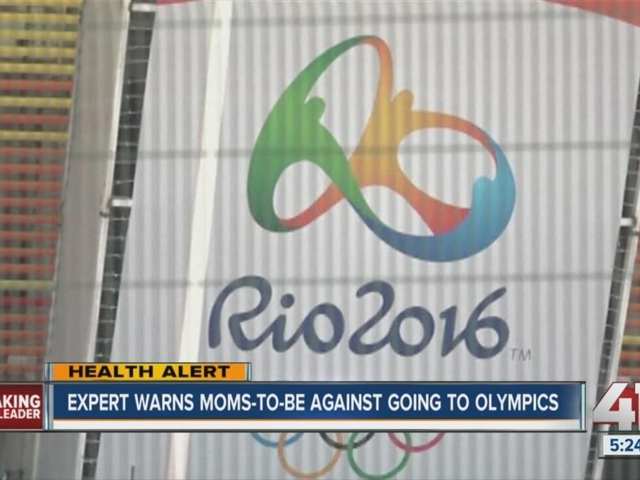 Experts warn moms-to-be against going to Olympics in Rio