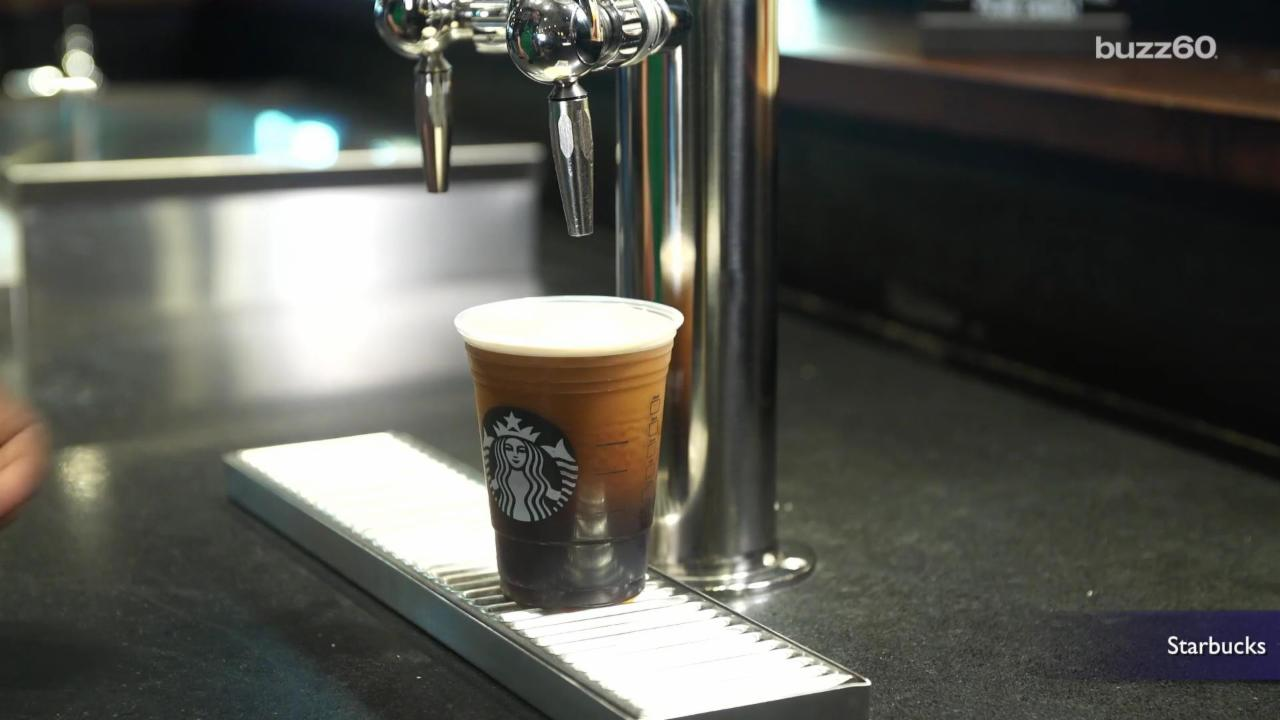 Starbucks Is Jumping On The Nitro Coffee Wave