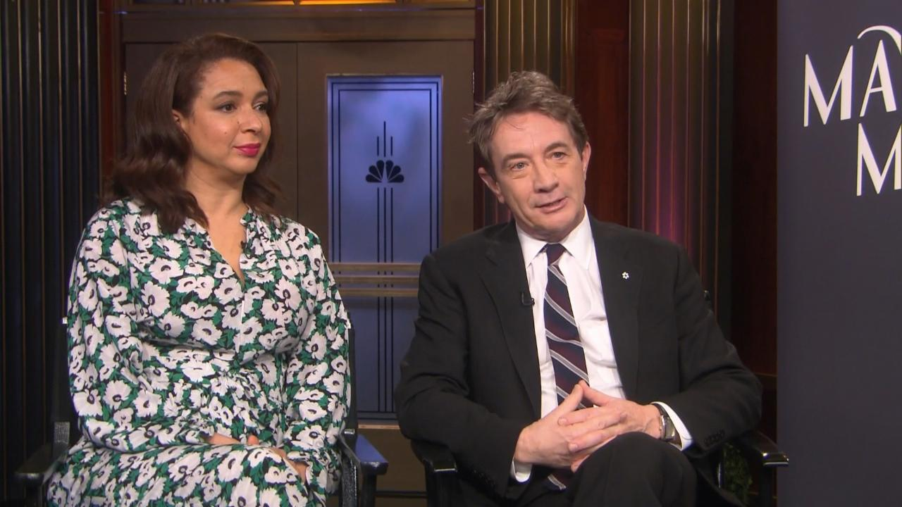 Maya Rudolph & Martin Short on Their New TV Variety Show