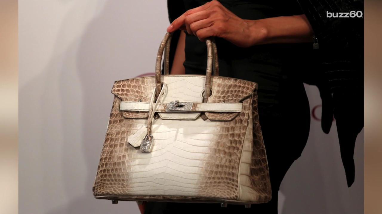 $300,000 Birkin Bag Sets New Price Record