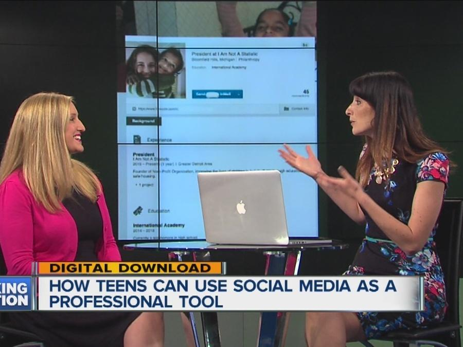INTERVIEW: How teens should use social media to snag summer jobs, internships