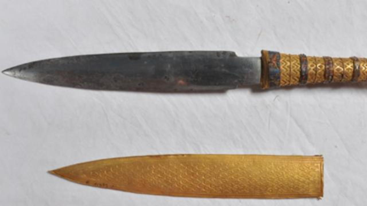 King Tut's Dagger Was Made Using Meteorite Fragment