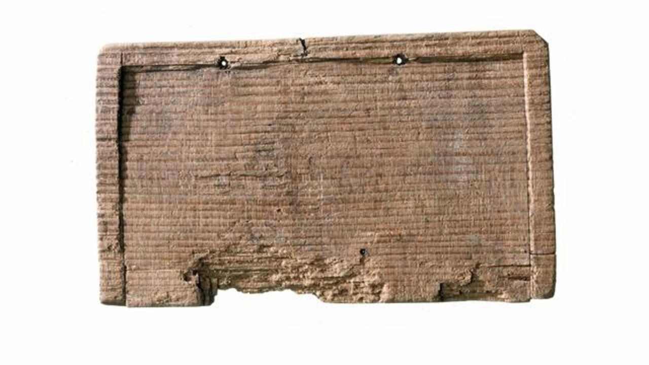 2,000-Year-Old Ancient Tablet Unearthed In London