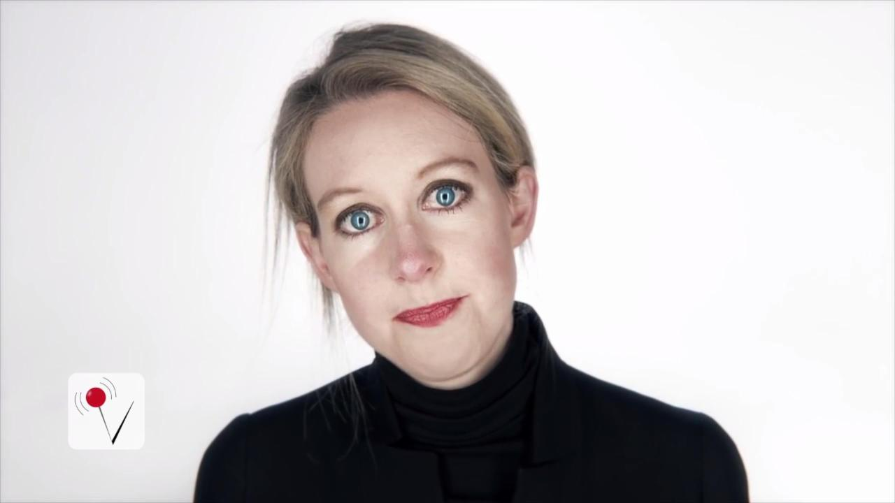 Theranos CEO Elizabeth Holmes Reportedly Has Net Worth of 'Nothing'