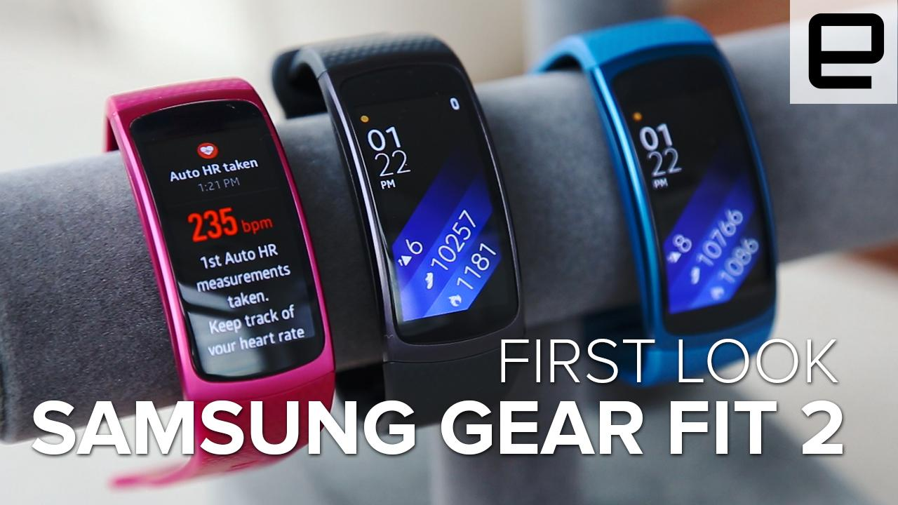 First Look: Samsung Gear Fit 2
