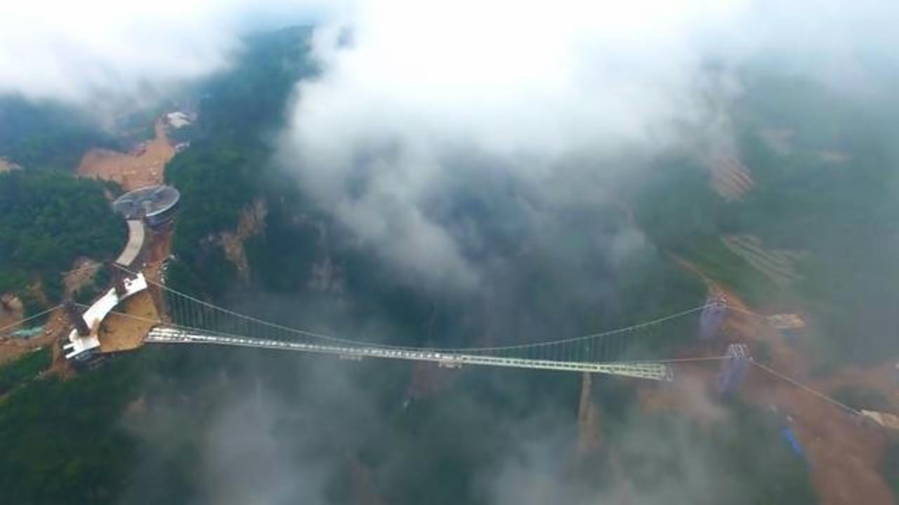 New Glass Bridge In China Is Not For The Faint Of Heart