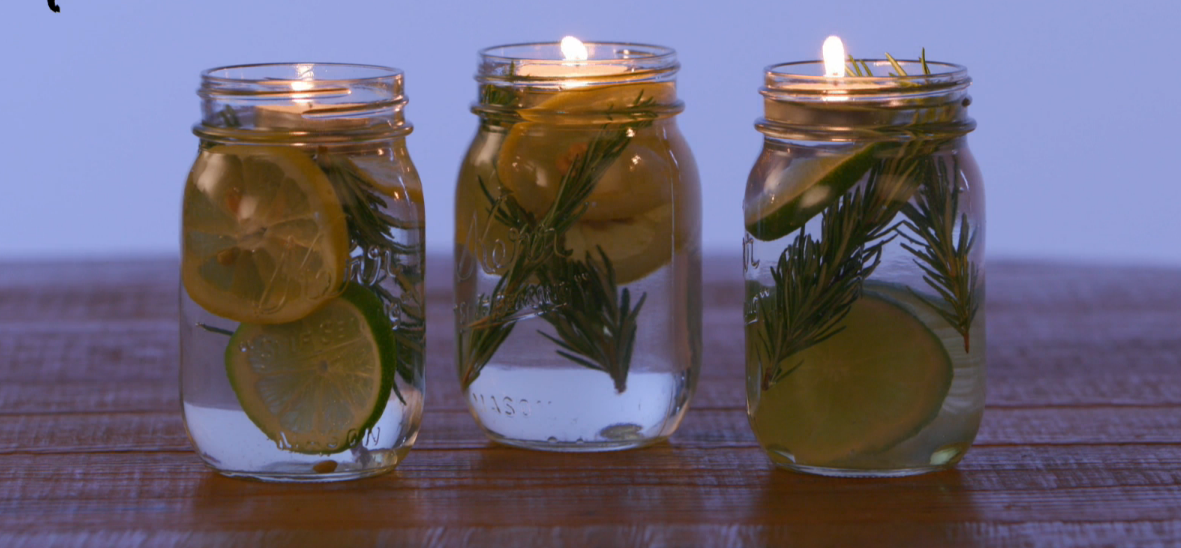 Little Things Mason Jar Bug Repellant
