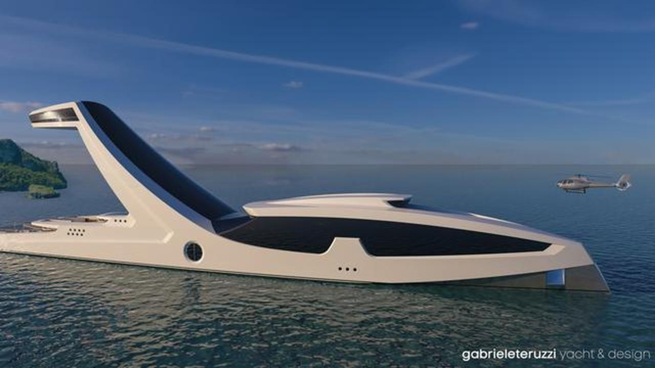 This Concept Superyacht Comes With Incredible Infinity Pool